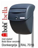 Bobi Bella grijs + statief